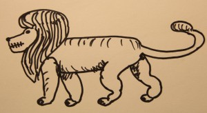 Tandeloze Leeuw