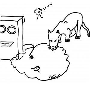 Leeuw en computer