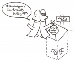 Verspilling ICT tussen 1,5 en 5 miljard euro
